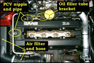 NG 900/9-3 Valve Cover Gasket - The Saab Tech Wiki